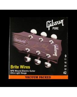 GIBSON SEG-700UL BRITE WIRES NPS WOUND ELECT Струны для электрогитары
