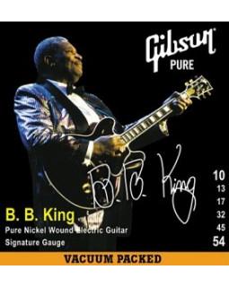 GIBSON SEG-BBS B.B.KING SIG. PNW Струны для электрогитары