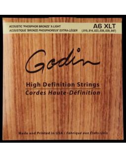 Струны для акустической гитары GODIN Strings Acoustic Guitar XLT Phos Bronze