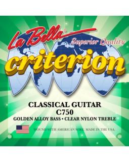 LA BELLA C750 Струны для классической гитары