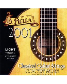 LA BELLA 2001 LIGHT Струны для классической гитары