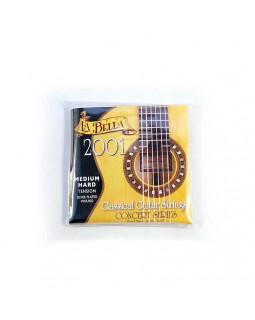 LA BELLA 2001MED-HARD Струны для классической гитары