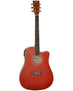 Электроакустическая гитара MAXWOOD MDT-6601CEQ