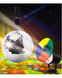 NIGHTSUN SN024 Зеркальный шар + мотор + лампа