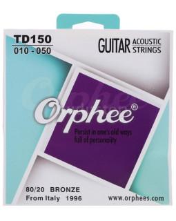 ORPHEE TD150 Струны для акустической гитары (10-50)