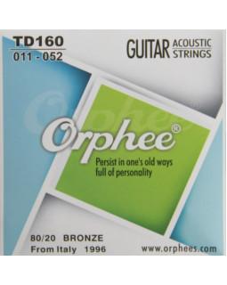 ORPHEE TD160 Струны для акустической гитары (11-52)