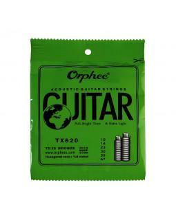 ORPHEE TX620 Струны для акустической гитары (10-47)