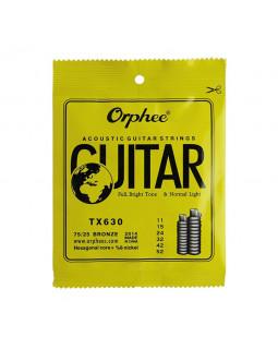 ORPHEE TX630 Струны для акустической гитары (11-52)