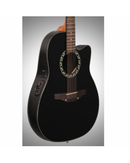 OVATION APPLAUSE BALLADEER Mid Cutaway Black AB2412-5