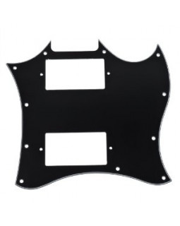 PAXPHIL M7 PICKGUARD FOR SG-STYLE GUITAR (Black)