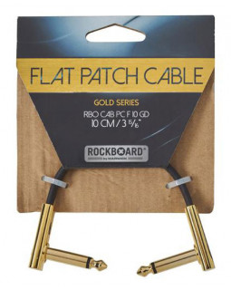 ROCKBOARD Gold Series Flat Patch Cable (10 cm)