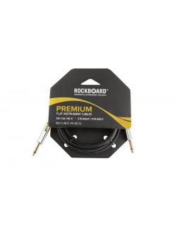 ROCKBOARD Premium Flat Instrument Cable, Straight/Straight (300 cm)