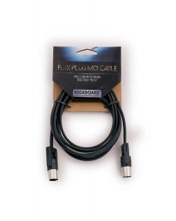 ROCKBOARD RBO CAB MD FX 200 BK RockBoard FlaX Plug MIDI Cable, 200 cm
