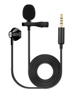 FZONE KM-03 LAVALIER MICROPHONE W/ EARPHONE