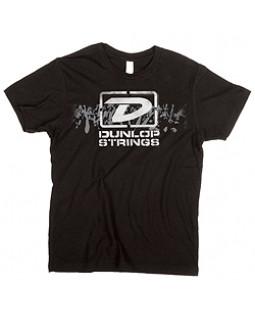 "DUNLOP DSD28-MTS-L MEN T-SHIRT ""DUNLOP STRINGS"" LARGE"