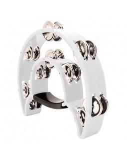 MAXTONE 818 Dual Power Tambourine (White)