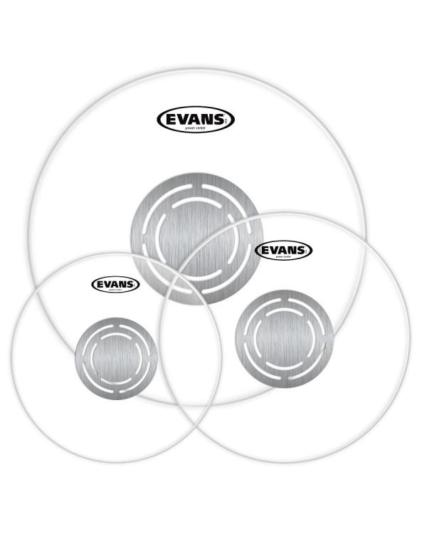 "EVANS POWER CENTER Clear Rock Tom Pack (10"", 12"", 16"") - Old Pack"