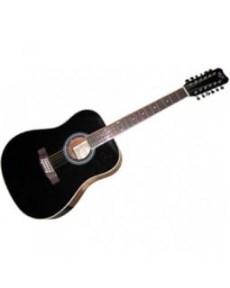 EUROFON GSW100/12 BK Гитара акустическая 12-струнная