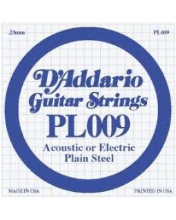 Струна для электрогитары D'ADDARIO PL009