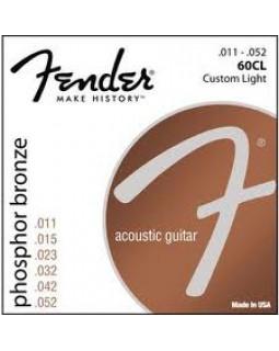 FENDER 60CL Струны для акустической гитары