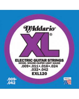 Струны для электрогитары DADDARIO EXL120
