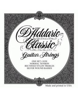 Струны для классической гитары Daddario EJ30