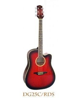 Акустическая гитара SX DG25C/VS