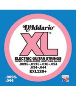 Струны для электрогитары DADDARIO EXL120+