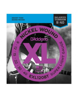Струны для электрогитары DADDARIO EXL120BT