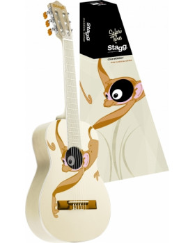 Stagg C510 MONKEY Детская классическая гитара 1/2