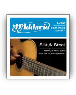 Струны для акустической гитары Daddario EJ40