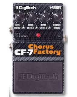 Педаль эффектов DIGITECH X-SERIES CF7 CHORUS FACTORY PEDAL