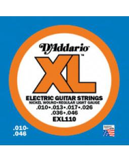 Струны для электрогитары DADDARIO EXL110