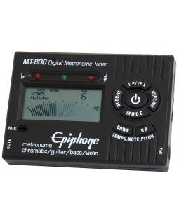 Цифровой хроматический тюнер-метроном EPIPHONE MT-800