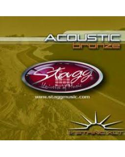 STAGG AC-12ST-PH Струны для акустической гитары, 12 стр.