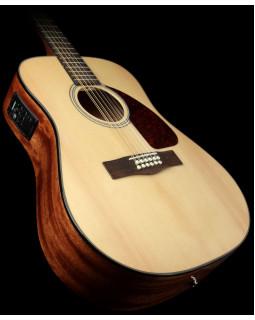 FENDER CD-60SCE-12 Natural Электроакустическая гитара, 12 струн