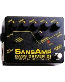 Педаль эффектов TECH 21 SansAmp Bass Driver