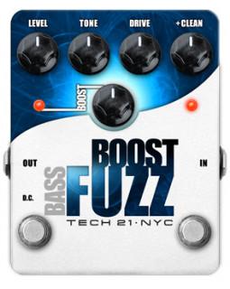 Фузз TECH 21 Boost Fuzz Bass