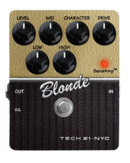 Педаль эффектов овердрайв TECH 21 Character Series Blonde