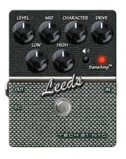 Педаль эффектов овердрайв TECH 21 Character Series Leeds