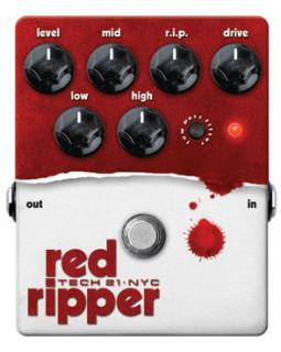 Фузз дисторшн TECH 21 Red Ripper