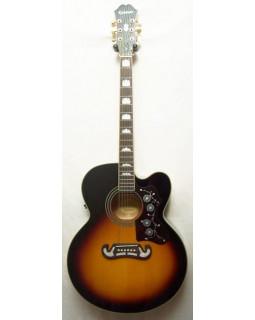 Гитара электроакустическая EPIPHONE EJ-200CE VS GH