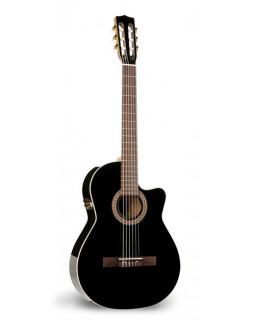 Гитара LaPatrie Hybrid CW Black QII