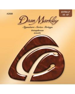 Струны для акустической гитары DEAN MARKLEY 2008