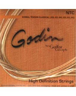 Струны для классической гитары Godin Strings Classic Guitar Hard Tension