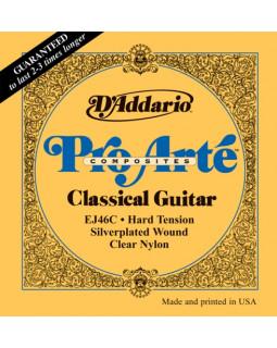 Струны для классической гитары Daddario EJ46С Pro Arte Composites