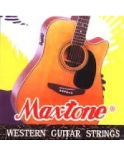 Струны для акустической гитары Maxtone FAGS/набор