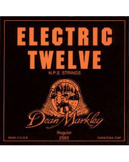 Струны для электрогитары DEAN MARKLEY Electric 12 REG