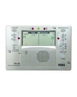 KORG TM40 Цифровой тюнер / метроном