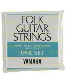 Струны для акустической гитары Yamaha FS550